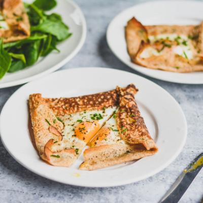 Herbed Savory Breakfast Crepes