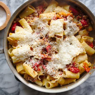 Rigatoni with Pork