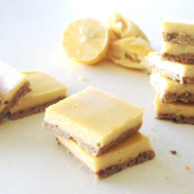 Gluten Free Lemon Bars With Crunchy Crust