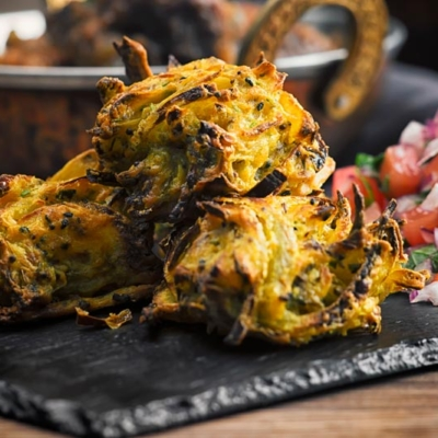Air Fryer Onion Bhaji