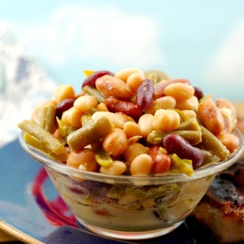 Easy Vegan Bean Salad