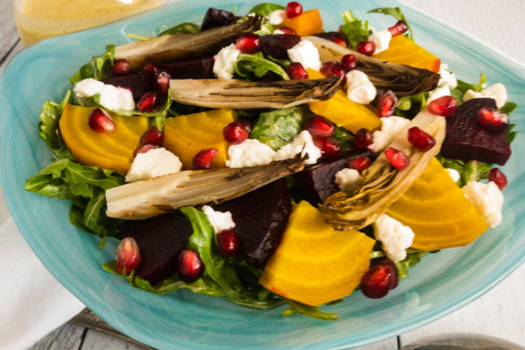 Roasted Beet and Endive Salad