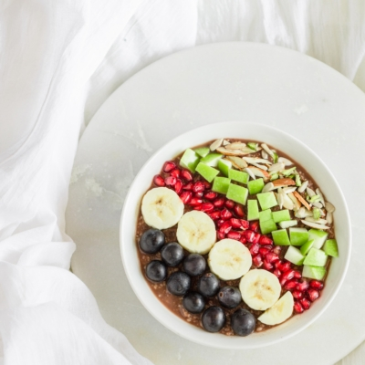 Smoothie Bowl With Almond Butter