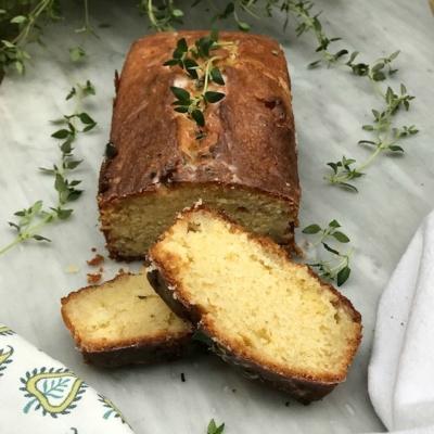 Thyme and Lemon Cake