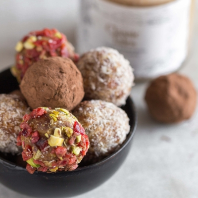 Truffle Balls – Laddoos almond butter recipe