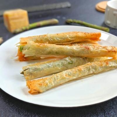 Filo Wrapped Asparagus