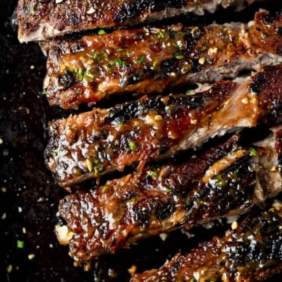 Thai BBQ Pork Spare Ribs