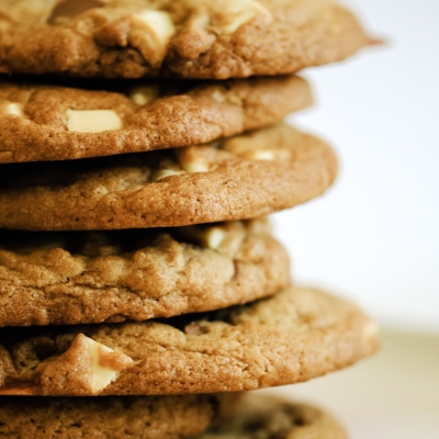 Chewy Triple Chunk Cookies