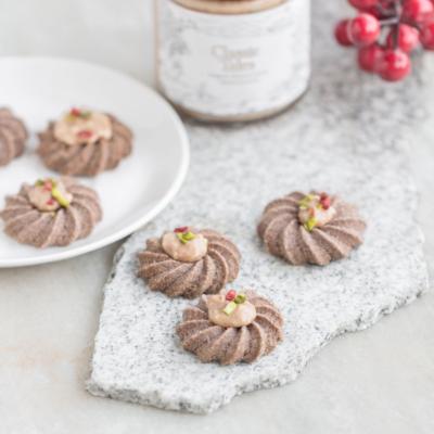 Millet Almond Cookies