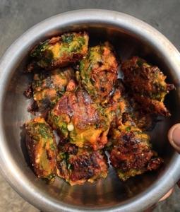 Moringa Leaves Fritters