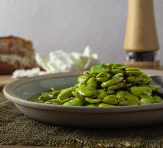 Marinated Fava Beans