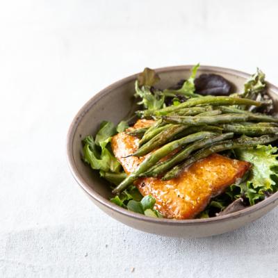 Roasted Salmon with Citrus Vinaigrette