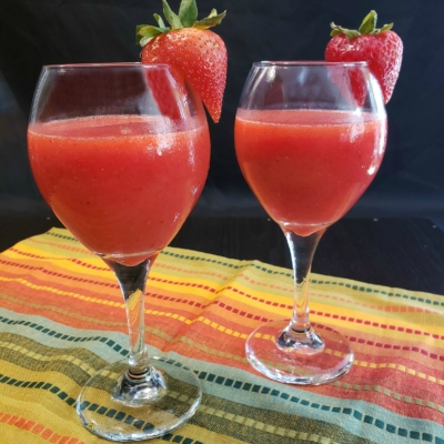 Frozen Strawberry Daiquiris