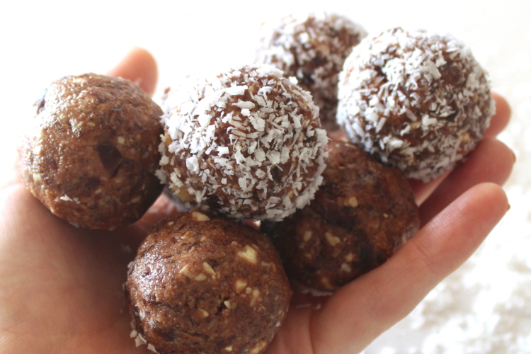 Coconut Date Bliss Balls