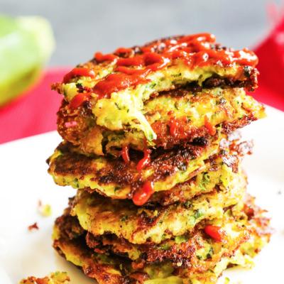 Easy Zucchini Fritter Recipe