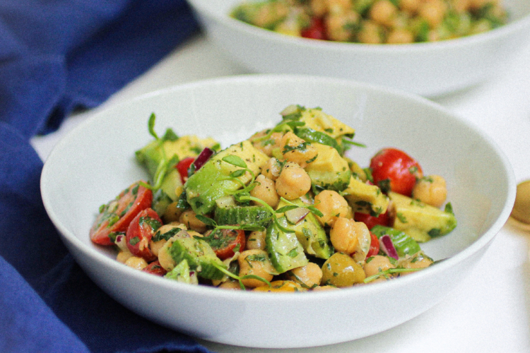 Best Ever Chickpea Salad