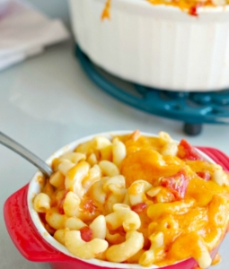 Mac and Cheese with Tomatoes