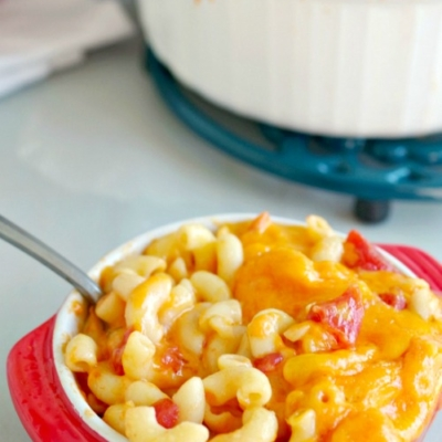 Old Fashioned Mac and Cheese with Tomatoes