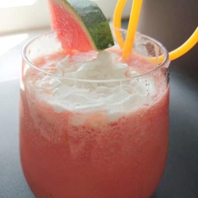 Dairy Free Watermelon Milkshake