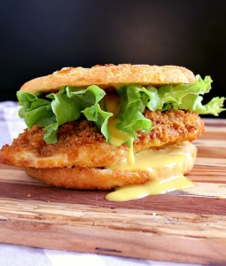 Crispy Keto Chicken Burger