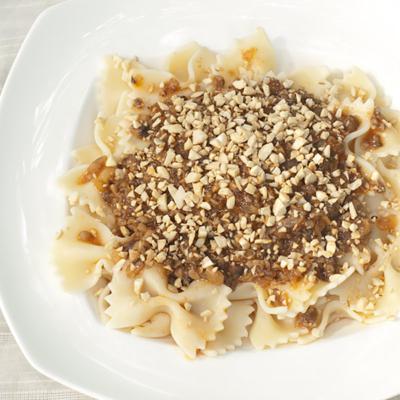 Mushroom Duxelles Pasta Sauce