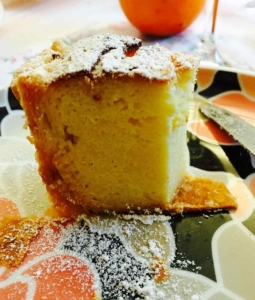 Ricotta Cheese and Coconut Cake