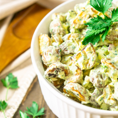 Herbed Roasted Potato Salad