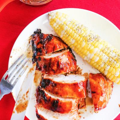Best Grilled BBQ Chicken Recipe
