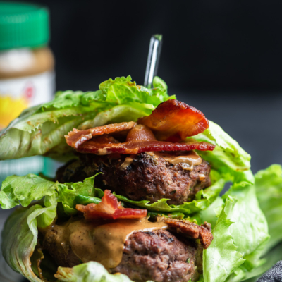 SunButter Bacon Burgers