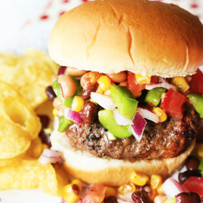 Best Juicy Salsa Burgers