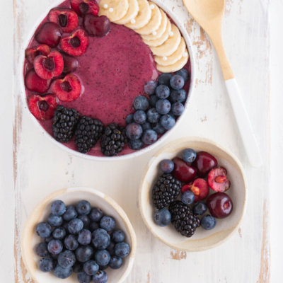 Cherry Berry Smoothie Bowl