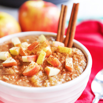 Instant Pot Apple Cinnamon Oatmeal Recipe