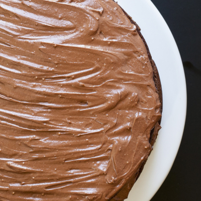 Vegan Chocolate Frosting (only 2 ingredients)