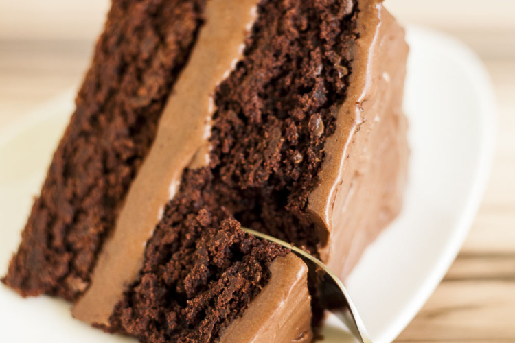 Vegan Chocolate Cake (Gluten-free)