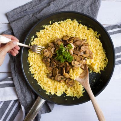 Vegan Mushroom Risotto