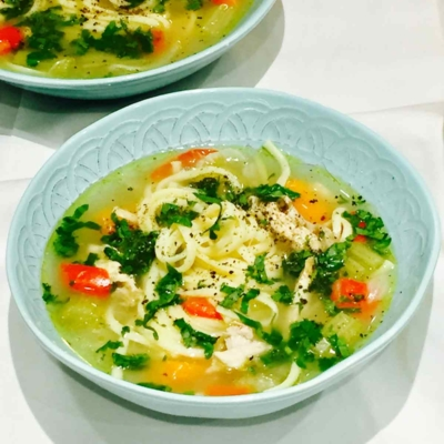 Winter Warming Chicken Soup