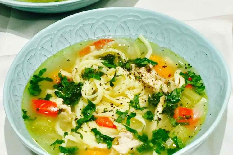 Winter Warming Chicken Soup