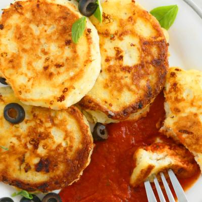 Pancakes for Dinner – Pizza Pancakes