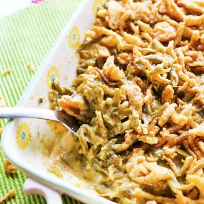Best Crockpot Green Bean Casserole