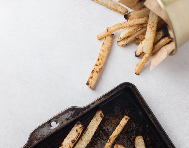 Creole Jicama Fries