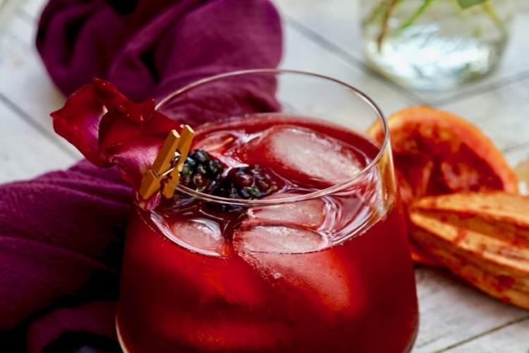 Mezcal Blackberry Smash