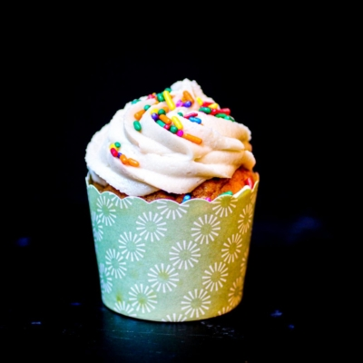 Vegan Pumpkin Cupcakes with Maple Orange Frosting