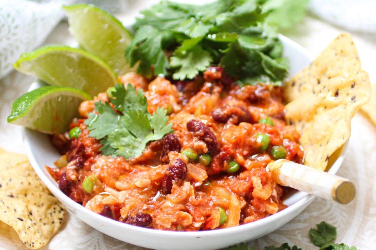 Three Bean Vegan Chili