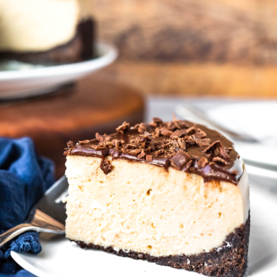 Instant Pot Peanut Butter Chocolate Cheesecake
