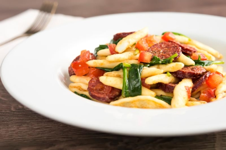 Easy Tomato and Chorizo Pasta