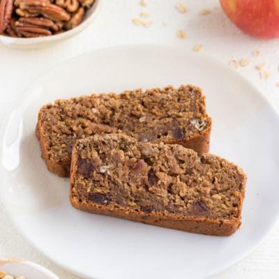 Apple Cinnamon Bread (Vegan & Gluten-Free)