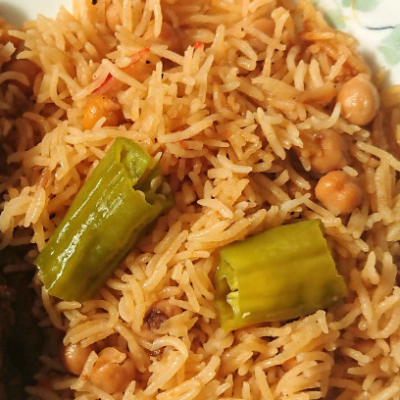 Allergy Friendly Chana Pulao