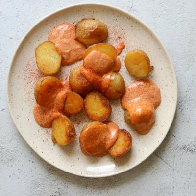 Patatas Bravas with Smokey Tomato Aioli