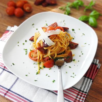 Spanish Chorizo Pasta