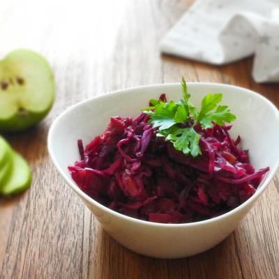 Balsamic Braised Cabbage